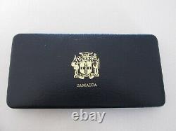 1982 Jamaica Proof Set withDisplay Case and COA's