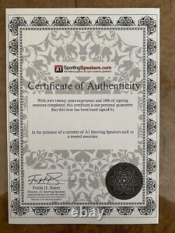 AJ ANTHONY JOSHUA SIGNED LTD EDIT GLOVE IN GLASS DISPLAY CASE COA £240 Delivered