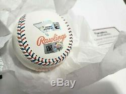 Aaron Judge Signed 2017 All Star Baseball Fanatics Mlb Holo Coa And Display Case