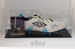 Ally McCoist Signed Autograph Football Boot Display Case Rangers AFTAL COA
