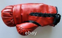 Authentic Muhammad Ali Signed Boxing Glove Autograph with COA & Display Case