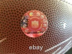 Ben ROETHLISBERGER signed/autographed NFL Football withdisplay case and COA