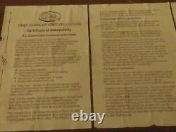 CASE XX 200th ANNIVERSARY OF THE CONSTITUTION SIGNING With COA & DISPLAY PLAQUE