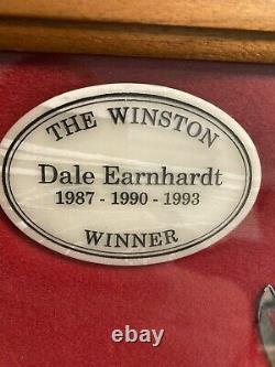 Dale Earnhardt The Winston Winner 1993 Case XX Knife in Walnut Display Case COA