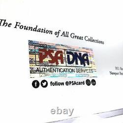 Damian Lillard Autographed Nike Basketball Display Case + PSA Authentic COA LOA