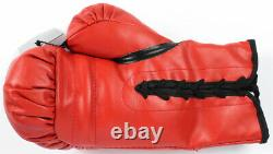 Earnie Shavers Signed Autographed Boxing Glove With Custom Display Case Ali COA