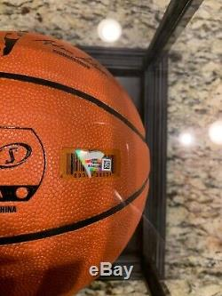 Fanatics Luka Doncic Auto Signed Basketball withFanatics COA&Display Case