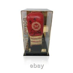 Floyd Mayweather Hand Signed Boxing Glove In a Display Case TMT TBE RARE COA