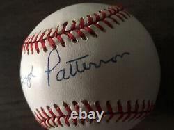 Floyd Patterson Autograph Signed Baseball Boxing Champion Display Case COA