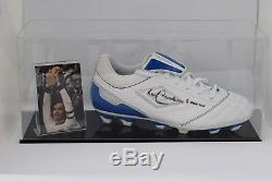 Franz Beckenbauer Signed Autograph Football Boot Display Case Germany COA