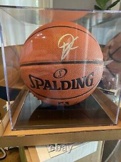 Giannis Antetokounmpo Signed NBA Basketball JSA COA Display Case Included