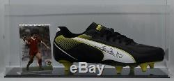 Graeme Souness Signed Autograph Football Boot Display Case Liverpool AFTAL COA