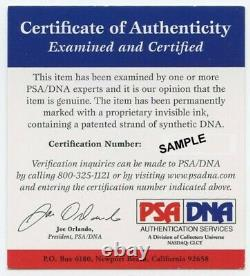 Hank Aaron Signed ONL Baseball with Display Case (PSA COA)