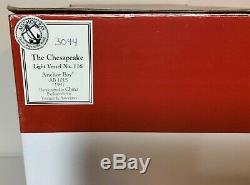 Harbour Lights 1997 Anchor Bay THE CHESAPEAKE #116 with Display Case NIB COA