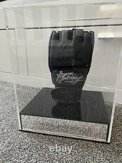 Joanna Jdrzejczyk Hand Signed UFC Glove & display case BECKETT COA