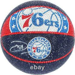 Joel Embiid 76ers Basketball Display Fanatics Authentic COA Item#9895866