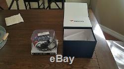 John Elway Denver Broncos Autographed Riddell Mini Helmet WithCOA and Display Case