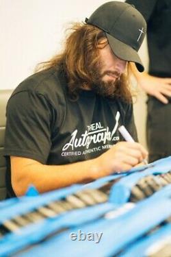 Jorge Masvidal signed glove Authentication JSA COA in display case