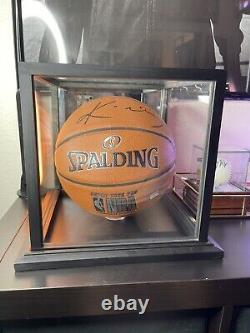 Kobe Bryant Signed Auto Autographed Basketball PSA/DNA COA and Display Case