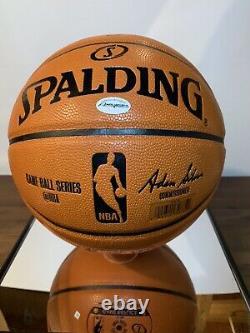 LeBron James Autograph/Signed Basketball COA Beautiful Display Case