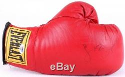 Leon Spinks Signed Everlast Boxing Glove with Display Case (PSA COA)