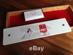 Mark Prior Autographed official MLB Pitching Rubber CUBS 2003 COA & display case