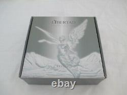Mexican Libertad Giant Kilo Silver Coin Wood Display Case 2013 COA