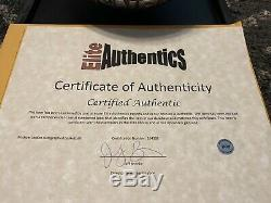 Michael Jordan Signed/Autographed Basketball with COA In Glass Display Case