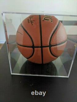 Michael Jordan Signed/Autographed Basketball with COA and Display Case