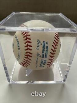 Mickey Mantle Autographed Baseball with display case no coa