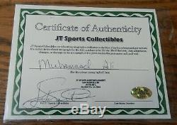 Muhammad Ali Signed Autographed Everlast Boxing Glove withCOA and display case