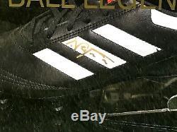 Neil Lennon Signed Football Boot Celtic Northern Ireland Legend Display Case COA