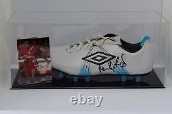 Neil Ruddock Signed Autograph Football Boot Display Case Liverpool AFTAL COA