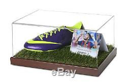 Neymar Jr Signed Football Boot Display Case Barcelona Autograph Memorabilia COA