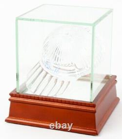 Nolan Ryan Signed Tiffany & Co. Crystal Cap / High Quality Display Case PSA COA