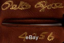 Pete Rose Signed Rawlings Baseball Glove with Display Case (PSA COA)
