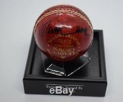 Phil Tufnell Signed Autograph Cricket Ball Display Case Sport England AFTAL COA