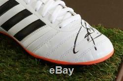 Raul Signed Football Boot Display Case Real Madrid Autograph Memorabilia COA