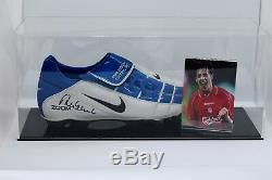 Robbie Fowler Signed Autograph Football Boot Display Case Liverpool AFTAL COA