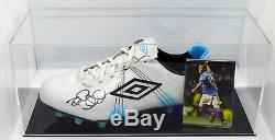 Rod Wallace Signed Autograph Football Boot Display Case Rangers AFTAL COA