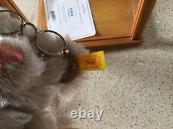 STEIFF DANBURY MINT BEAR Grandma Sylvia WITH COA and DISPLAY CASE