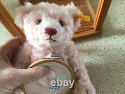 STEIFF DANBURY MINT BEAR Mother Frances WITH COA and DISPLAY CASE