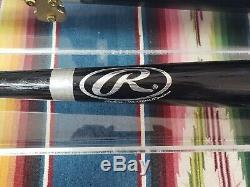 Sammy Sosa Autographed Bat with COA & Plexiglass Display Case-Rawlings Bat