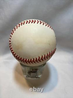 Sandy Koufax Brooklyn Dodgers Autographed Baseball with COA in Display Case