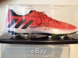 Scarpa Autografata Lionel Messi Signed Lionel Messi with COA + Display Case