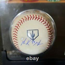 Signed Sd Padres Mackenzie Gore Mlb Baseball & Rc Card Display Case Proof Coa