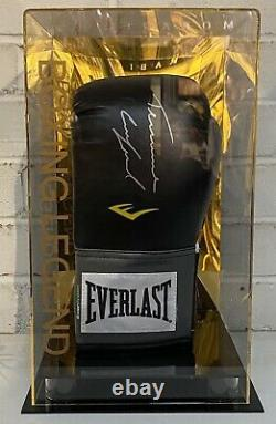 Terrance Crawford Signed Boxing Glove World Champion in a Display Case AFTAL COA