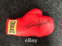Terrance Crawford Signed Boxing Glove in A Display Case Bud COA Rare AFTAL