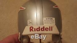 Tom Brady Auto JSA Mini Helmet Signed Autographed LOA COA with Display Case Rare