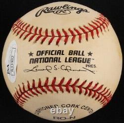 Tommy Lasorda Signed Autographed MLB Baseball Dodgers withDisplay Case (JSA COA)